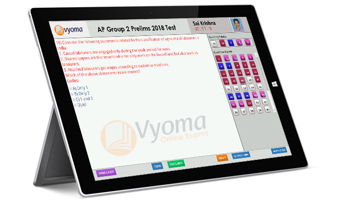 Why Vyoma Online Exams Platform?