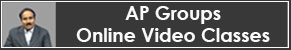 APPSC Groups Online Video Classes