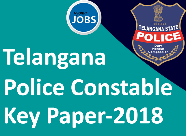 TS Constable Answer Key TSLPRB PC Key Paper, Constable Key